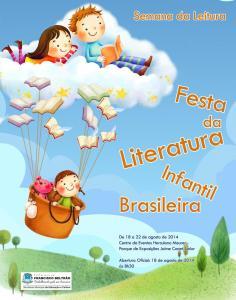 Tema do evento será a literatura infantil brasileira