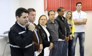 No lançamento do evento no Colégio Mário de Andrade, Rudi Czerniaski, Valdeci Priester, Elenir Maciel, Alfonso Bruzamarello, Marcos Bevilaqua, Marilda Galvan e Cleison Cataneo