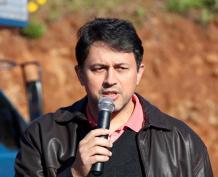 """Osni dos Santos, da associação de moradores: """"É uma região que cresce rapidamente e, por isso, precisa receber esses serviços públicos"""""""