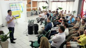 Solenidade com lideranças empresariais marcou o primeiro ano do Centro Empresarial
