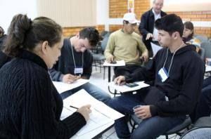 Nesta edição, evento também ofereceu oficinas gratuitas aos microempreendedores, como a do controle de caixa, ministrada pelo Sebrae no Centro Empresarial