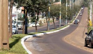 Avenida Antonio Silvio Barbieri recebeu melhorias