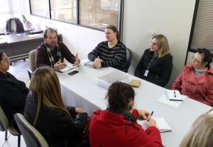 Secretaria de Educação e Sesc se reuniram para acertar a implantação do projeto Futuro Integral no município