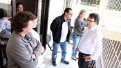 Servidores do Caps AD receberam o prefeito e equipe na sede do serviço, no bairro Alvorada