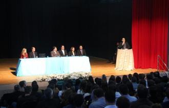 Durante a nomeação, em evento do Dia do Administrador, prefeito Cantelmo Neto destacou a profissionalização do setor público