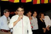 Prefeito Cantelmo Neto e lideranças políticas e tradicionalistas acompanharam o evento que autorizou o início das obras