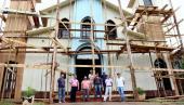 Capela São Francisco está sendo restaurada através de parceria entre a Prefeitura e comunidade