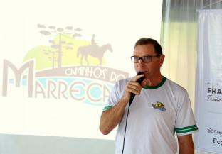 Adelino Menegatti, presidente da recém criada associação de turismo rural