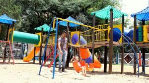 Desde o ano passado, CMEIs e parques ambientais passaram a receber a estrutura para crianças