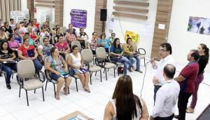 Prefeito Cantelmo Neto participou da abertura dos cursos, que acontecem desde segunda com aulas práticas e teóricas