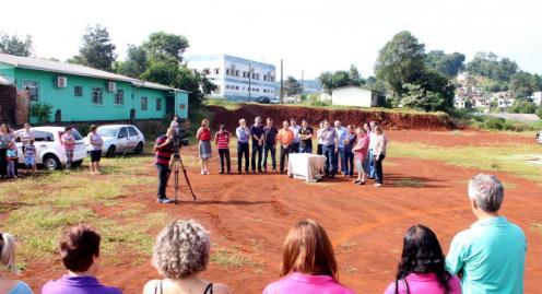Novo CMEI será construído em terreno próximo á escola Germano Meyer