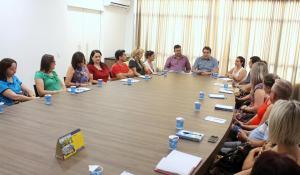 Prefeito Cantelmo Neto se reuniu nesta semana com diretores das 19 escolas de Beltrão para debater proposta de ampliação da hora atividade