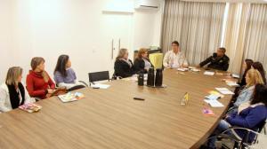 Representantes de instituições se reuniram nesta semana na Prefeitura para programar ações