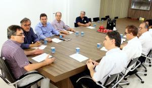 No encontro, Neto destacou projetos em andamento e boa condição financeira do Município