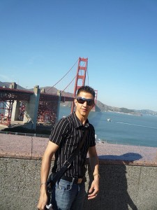 A picture of me while at the Health 2.0 Conference in San Francisco, California