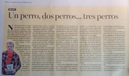 Diario Deia, 23/diciembre/2018. Relato de Francisco Panera.