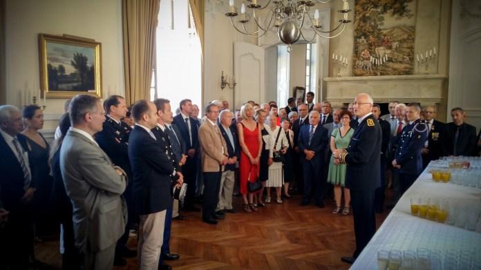 Le préfet du Gers, Pierre Ory, adresse ses premiers mots aux chefs de services de la préfecture et aux élus du Gers. @franckmontauge.fr