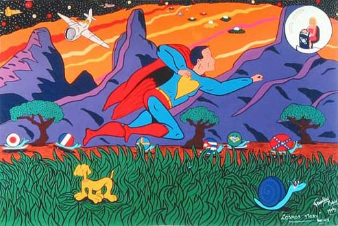 """ Cosmos Story "" - 146 X 97 - 1997 -"