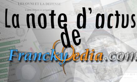 – NOTE D'ACTUALITÉS DU 12 AVRIL 2017 – N#2