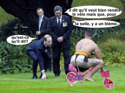 bicycle appartenir à mon fils, comprende?