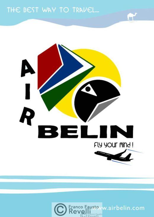 AIR BELIN | poster, 2014