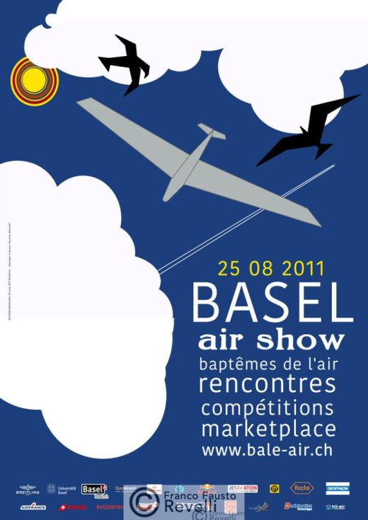 BASEL AIR SHOW | poster, 2011