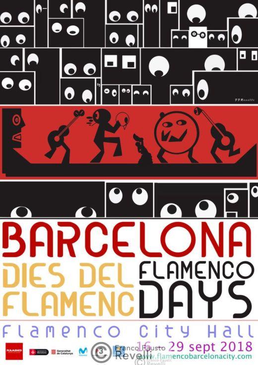 DIES DEL FLAMENCO, BARCELONA | Poster, 2018