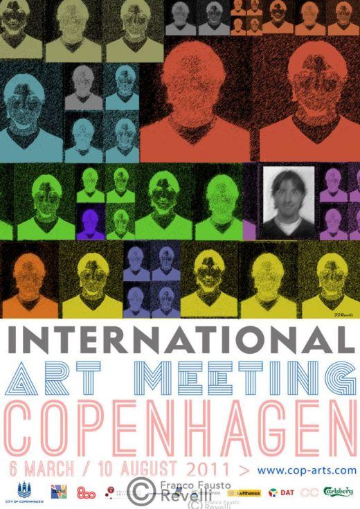 INTERNATIONAL ART MEETING, COPENHAGEN |  Affiche, 2011