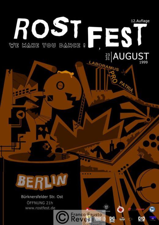ROST FEST, BERLIN | poster, 1999