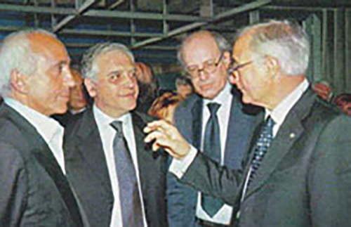 Franco Azzinari e Claudio Strinati