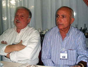 Franco azzinari e Gianni Minà