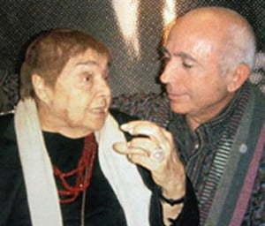 Fernanda Pivano e Franco Azzinari