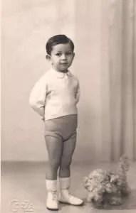 Franco Bianchi bambino