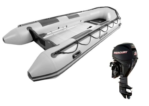 Pack Neumática Quicksilver 470 Sport HD + Motor Mercury F ...