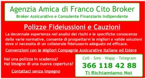 Franco Cito Broker Polizze Fideiussioni e Cauzioni