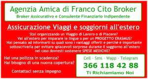 Franco Cito Broker - Polizza Viaggi e Soggiorni All'estero