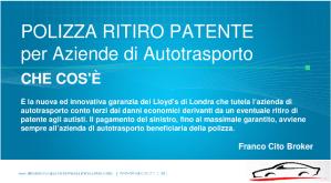 Polizza Ritiro Patente