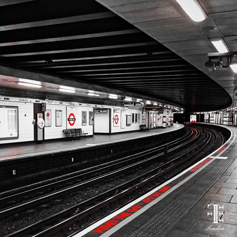 Mind the Gap Tube Photo by Franco Esteve