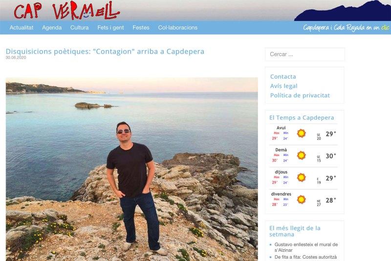 Cap Vermell Magazine Contagion Music Album Review