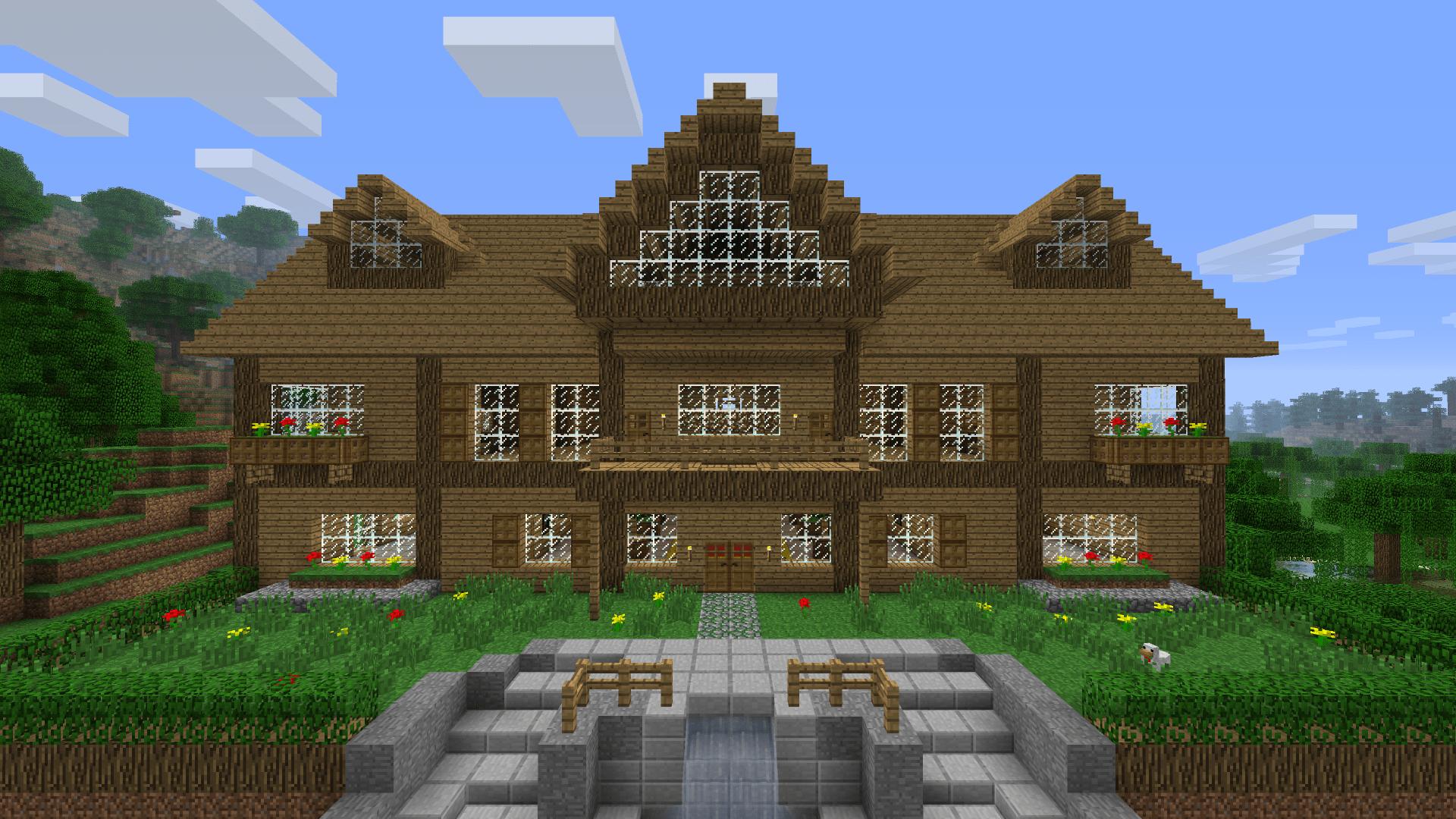 Photo De Maison Minecraft Maison Franois Fabie