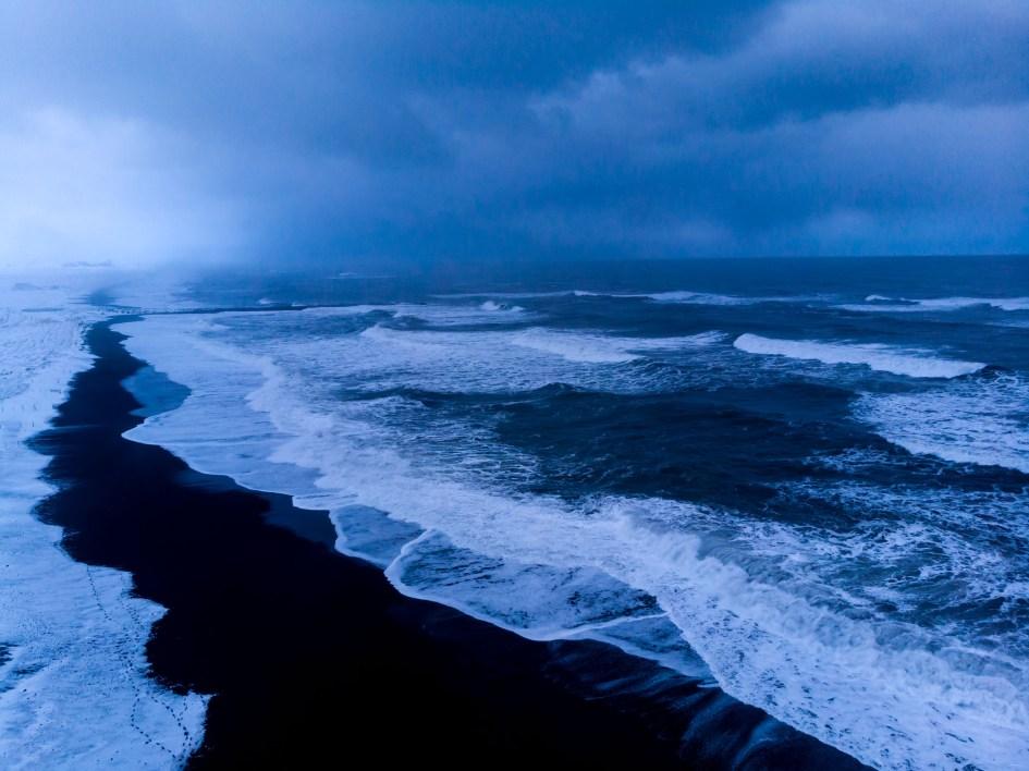 La plage de Vik