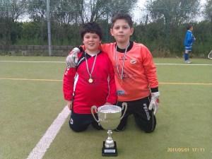 due portieri -torneo rossano 2011 (Greco Simone e Fazzitta Daniele)