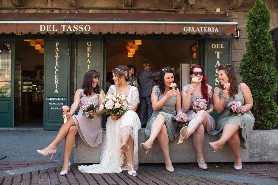 Matrimonio Destate Al Castello Di Marne Franco Milani
