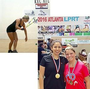 Jordan rocks in Atlanta and wins Women's Open/Pro doubles w Alexander Herrera, top 8 pro.