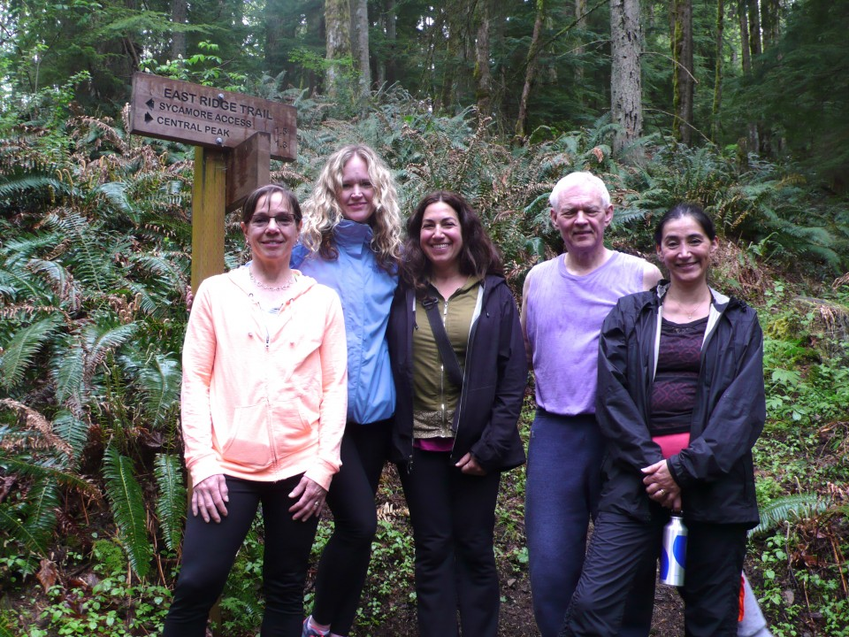 Hikers from Saturday's retreat in Issaquah.