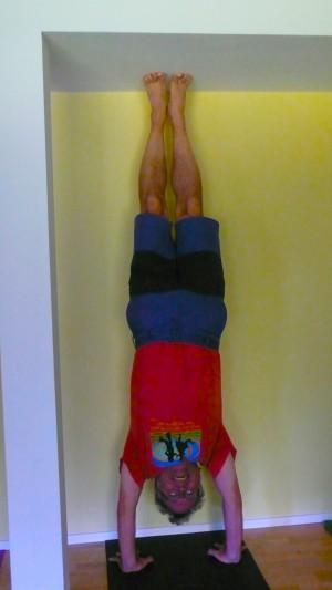 Handstand....