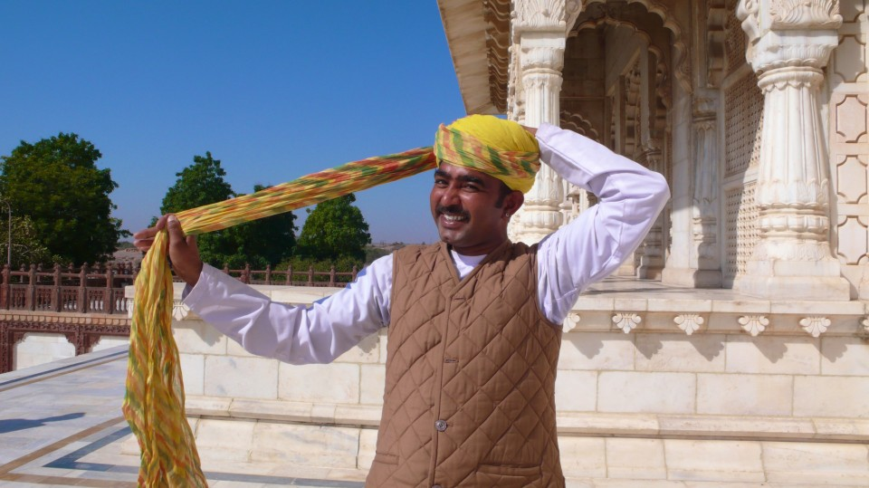 Nine-meters-long Turban: Jodhpur