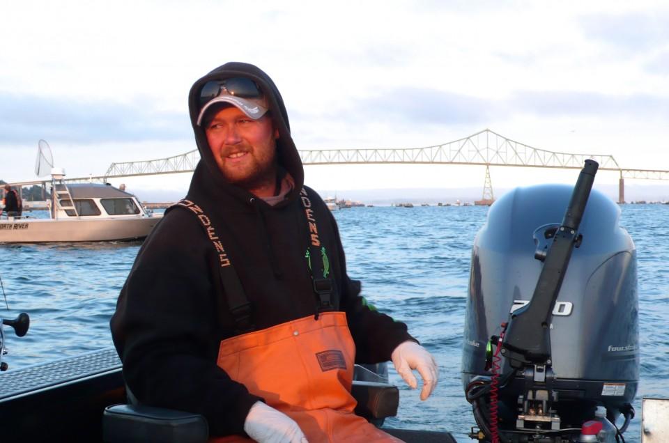 Skipper Matthew Chandler of Get Hooked NW