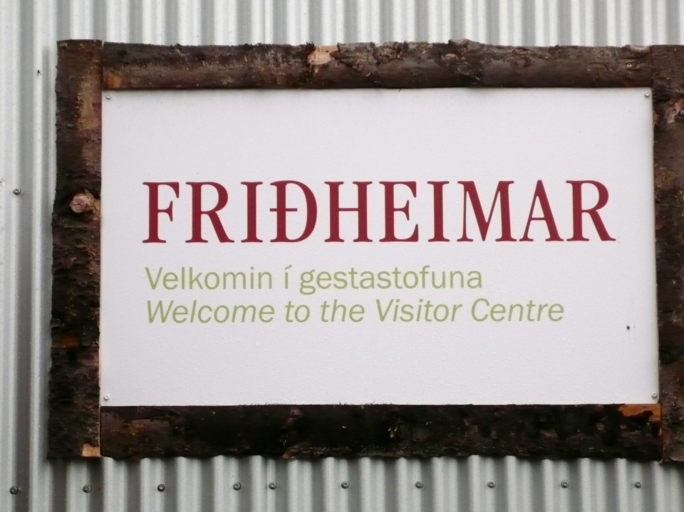 Fridheimar Green House where tomatoes and cucumbers are grown by tons!