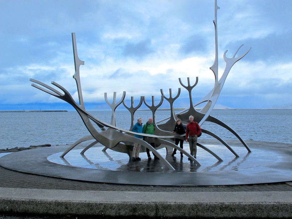 Viking Sculpture in Reykjavik